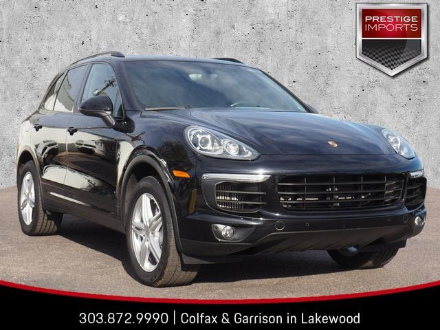 Pre Owned 2017 Porsche Cayenne S